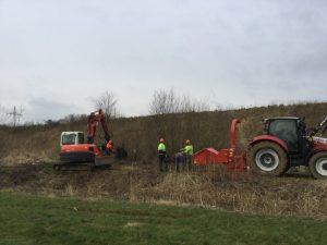 Gewässerunterhaltung Wolfsburger Entwässerungsbetriebe