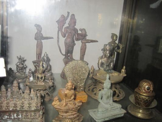 Teile der Buddha-Sammlung