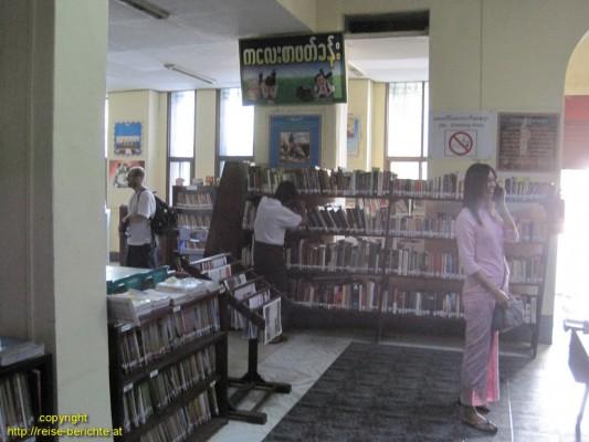 bibliothek yangon