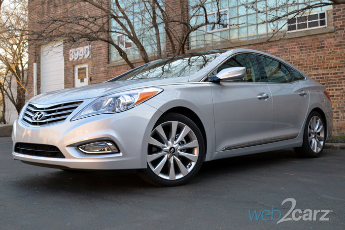 2014 Hyundai Azera Limited Review Web2Carz