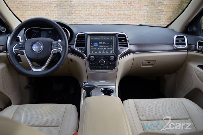 White jeep cherokee with tan interior - 2017 jeep cherokee limited interior ...