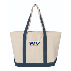 WV SWIMMING CANVAS TOTE BAG