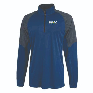 WV Swimming Pennant Atlas 1/4 zip pullover