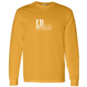 FBS Logo - Gold Long Sleeve