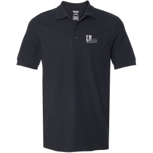 FBS Logo - Black Sport Shirt (Men's)