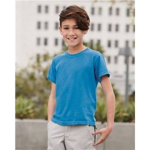 Youth Garment Dyed Ringspun T-Shirt