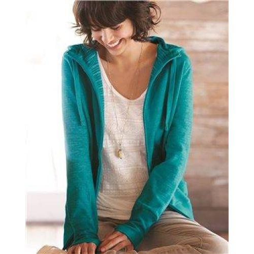 Women's Baja Stripe French Terry Hooded Full-Zip Sweatshirt