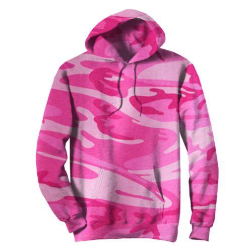 Code V Camouflage Pullover Hood
