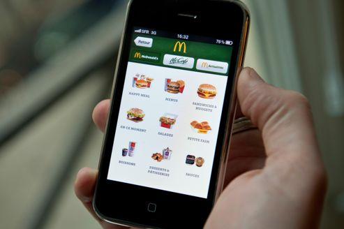 McDonalds Les Commandes Sur Mobile Et Internet