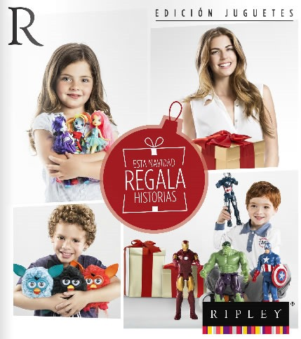 catalogo ripley navidad 2013 edicion juguetes peru