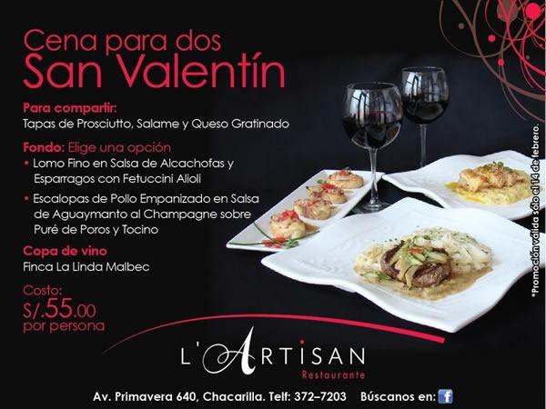 dia-de-san-valentin-2012-cena-para-dos-lartisan-restaurante