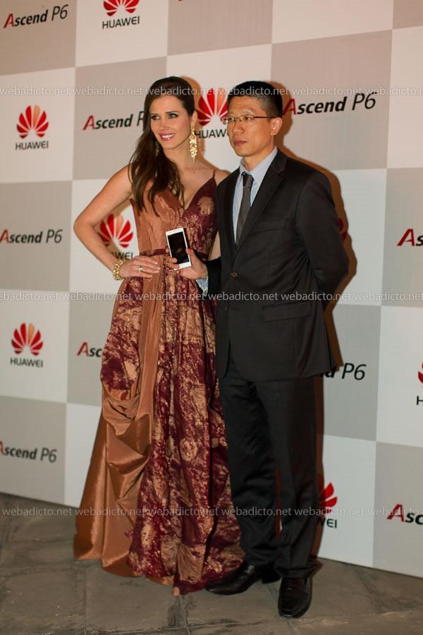 Maju Mantilla y el Sr. Yang Peng
