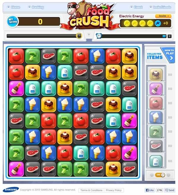 food-crush-samsung-concurso