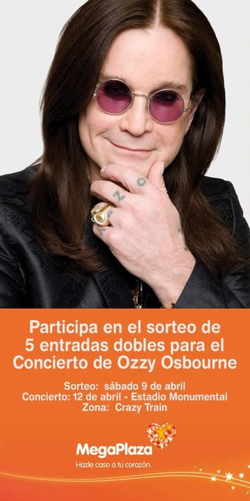 gana-entradas-ozzy-osbourne-concierto-megaplaza