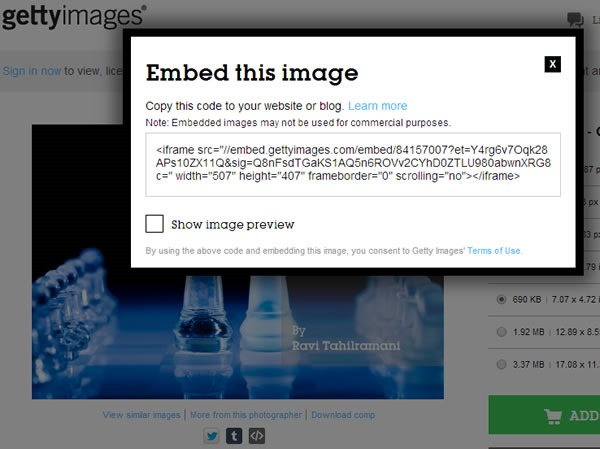 gettyimages stock images code