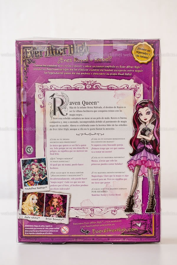 review doll ever after high-0173