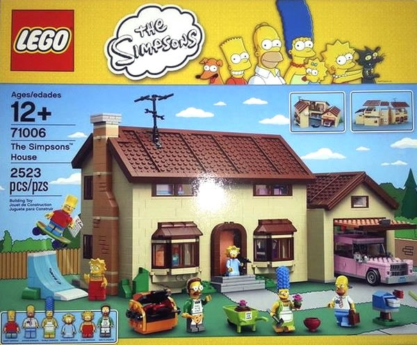 set de lego de los simpsons
