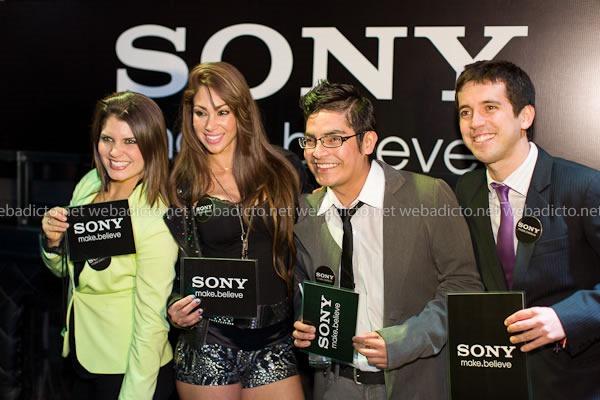 Nataniel Sanchez, Melissa Loza, Erick Elera y Jesús Alzamora
