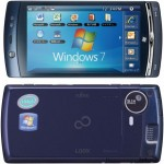 Fujitsu LOOX F-07C-World's First Atom Powered Windows 7/Symbian Mobile