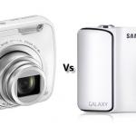 Nikon Coolpix S800C vs Samsung Galaxy Camera Comparison