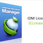 Internet Download Manager License Giveaway