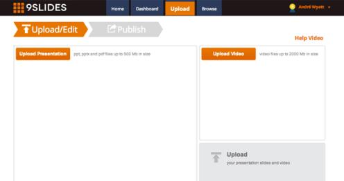 9Slides create interactive presentation