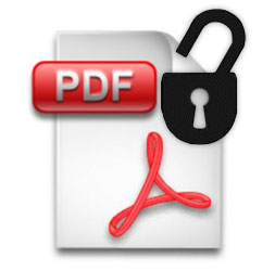 Remove PDF password protection