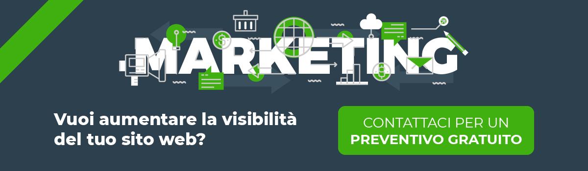 Preventivo gratuito web marketing