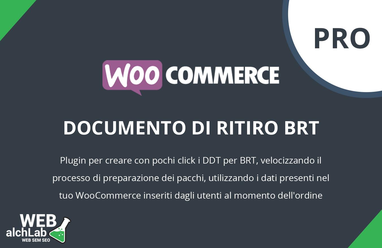 "Plugin ""DDT BRT PRO"" per WooCommerce"