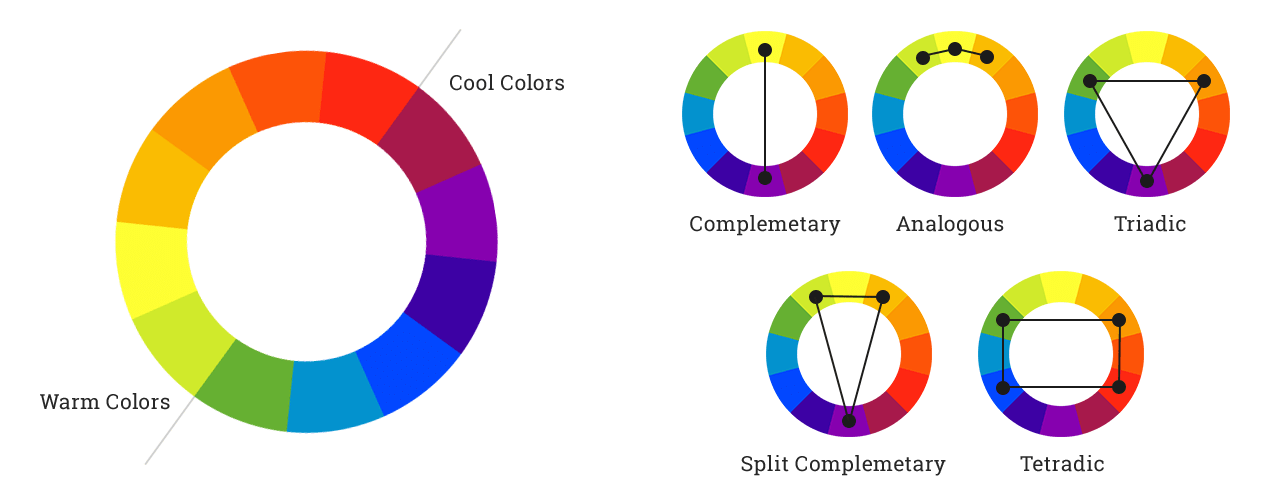 Colors Complementary Pairs 3