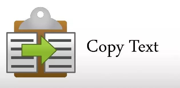 copiare il testo da un sito protetto