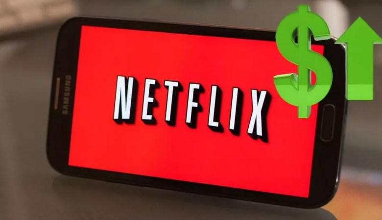 Netflix aumento costo abbonamento