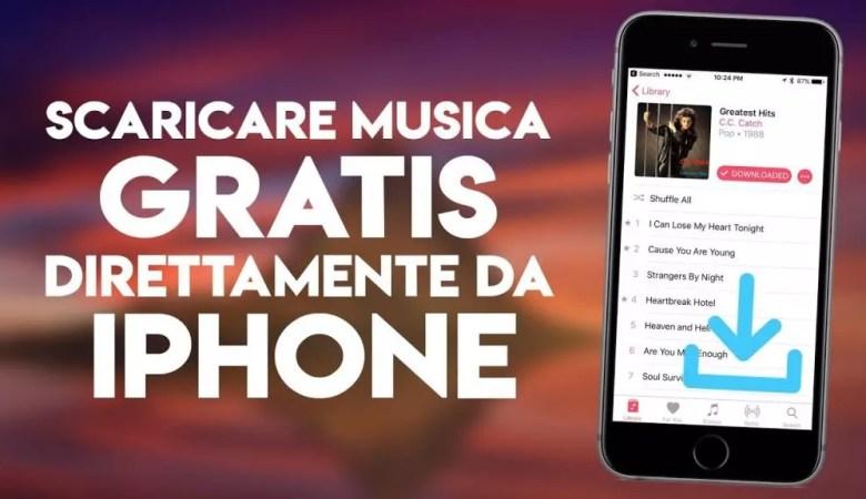 scaricare musica su iphone gratis