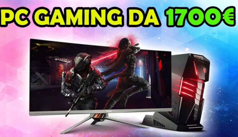 PC Gaming da 1700 €