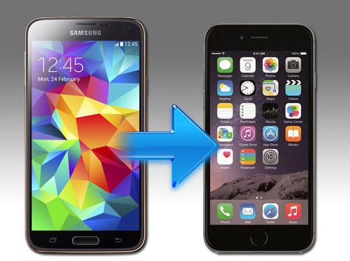 Come trasferire foto da Android ad Iphone