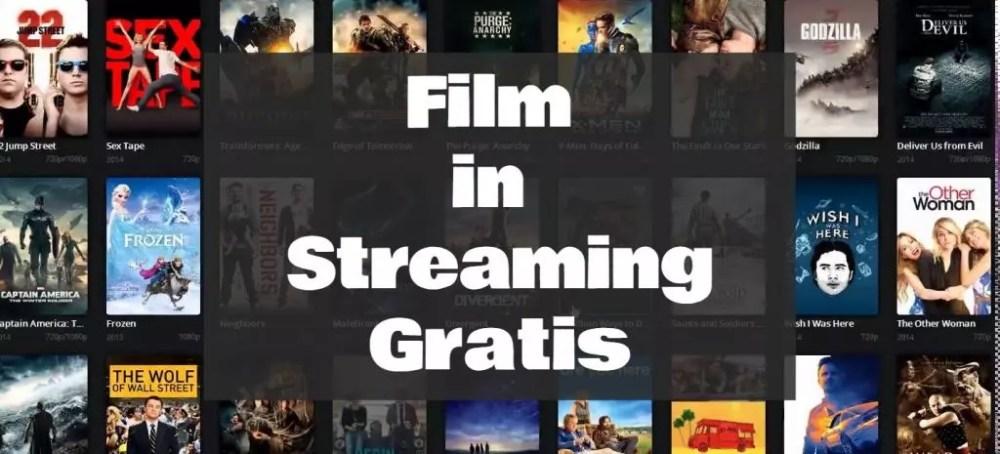 Come guardare film in Streaming gratis