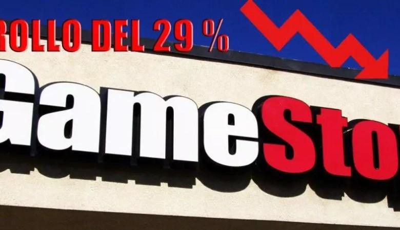 presunto fallimento di gamestop