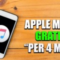 Come avere Apple Music Gratis per 4 Mesi