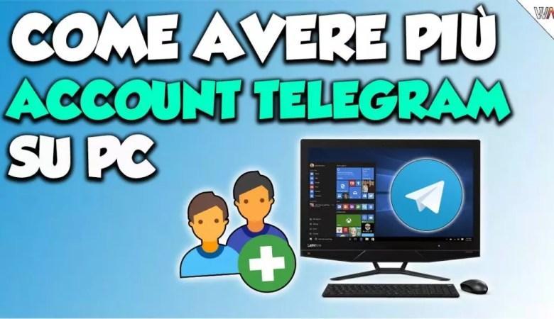 Come avere più account Telegram