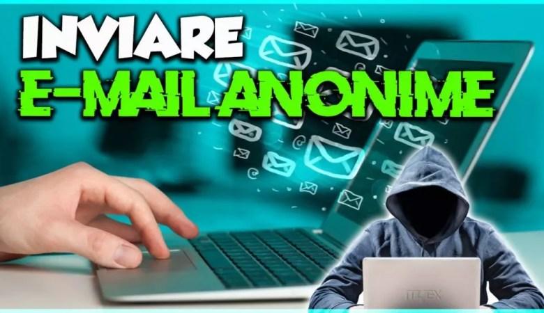 Come inviare e-mail anonime