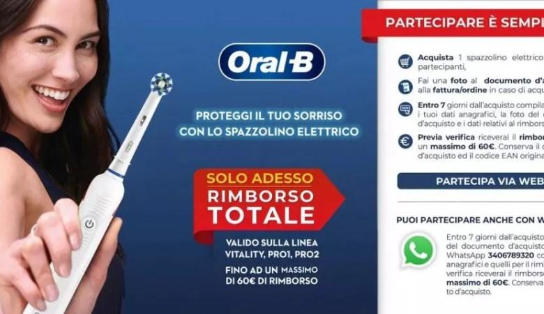 ORAL B RIMBORSO TOTALE