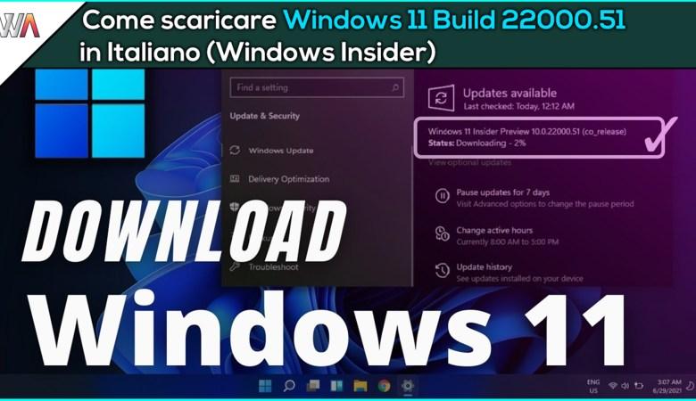 Windows 11 Build 22000.51