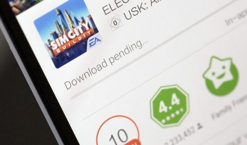 Download in attesa Play Store