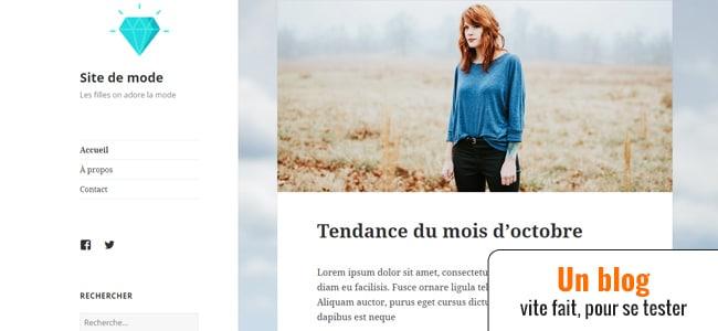 WordPress – Lancer un blog en 30 minutes (ép. 1)