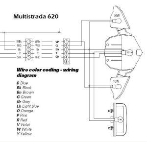 Ducati Multistrada LED Brake Lights  webBikeWorld