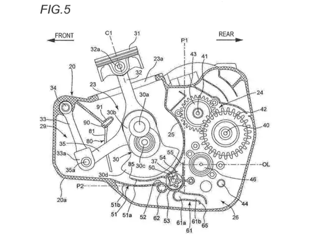 Suzuki S Counterbalanced Single Cylinder Engine Patent