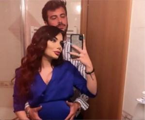 Nicole Pallado e il fidanzato comprano su Amazon una falsa pancia da gravidanza – video