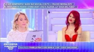 La Diva del Tubo ospite a Pomeriggio 5: rivelazioni shock a Barbara d'Urso – Video