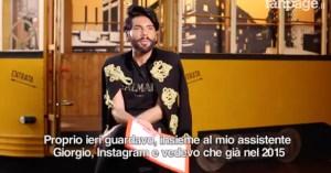 Federico Fashion Style risponde alle polemiche di Chiara Facchetti – il video