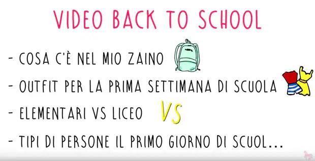Back To School video Cesca
